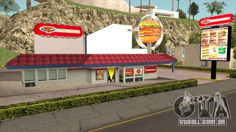 New Burgershot para GTA San Andreas