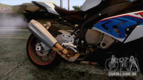 BMW S1000RR 2018 para GTA San Andreas vista interior