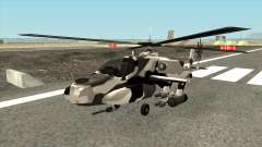 Padrão de camuflagem para o Caçador para GTA San Andreas