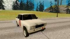 VAZ 2105 branco para GTA San Andreas