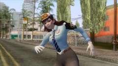 Overwatch - Officer D.va Skin para GTA San Andreas