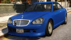 Mercedes-Benz Schafter Conversion para GTA 4