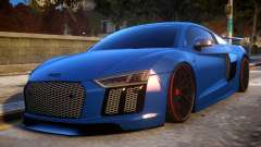 Audi R8 2017 para GTA 4