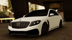Mercedes-Benz S63 WALD Black Bison para GTA San Andreas
