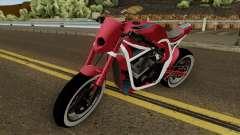 Kawasaki Z800 Street Fighter para GTA San Andreas