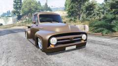 Ford FR100 1953 stance v1.1 [replace] para GTA 5