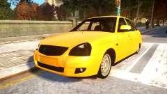 Lada Priora 2172 Buynuz Perde para GTA 4