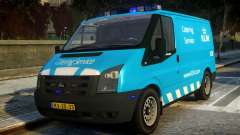 Ford Transit Catering Service KLM para GTA 4