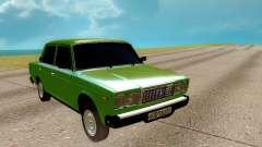 2107 verde para GTA San Andreas