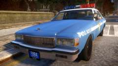 1985 Chevrolet Caprice NYPD Police para GTA 4
