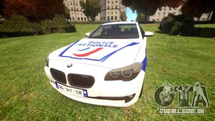 BMW Police Nationale para GTA 4