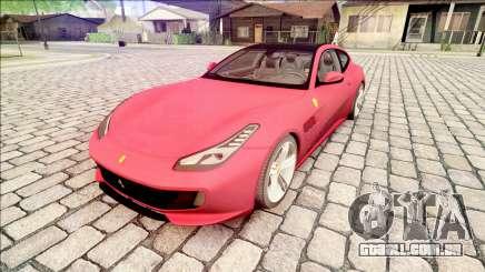 Ferrari GTC4 Lusso 70th Anniversary 2016 IVF para GTA San Andreas