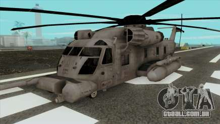 CH-53 Blackout de Transformadores para GTA San Andreas