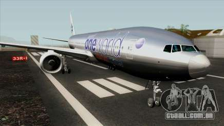 Boeing 777-200ER American Airlines - Oneworld para GTA San Andreas