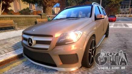 Mercedes Benz GL63 AMG Baku Style para GTA 4