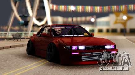 Nissan Silvia S13 CAMBEGANG para GTA San Andreas
