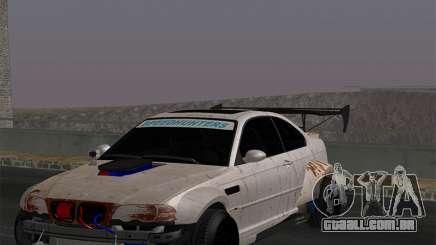BMW M3 E46-DAYZ para GTA San Andreas