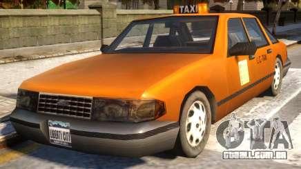 GTA III Taxi for IV v1.0 para GTA 4