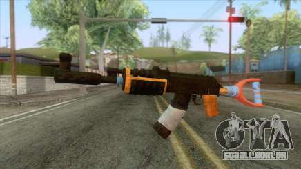 Improvised AK-47 Rifle para GTA San Andreas