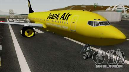 Boeing 737-800 Juank Air para GTA San Andreas