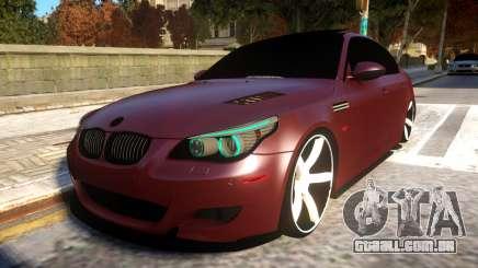 BMW E60 Realistic Vossen Wheel para GTA 4