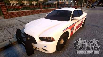 Dodge Charger police para GTA 4
