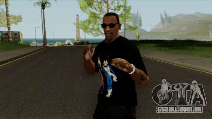 Dragon Ball Super Goku & Vegeta T-Shirt para GTA San Andreas