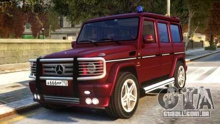 Mercedes-Benz G55 AMG v1.1 para GTA 4