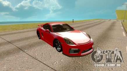 Porsche Cayman 2017 para GTA San Andreas