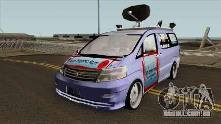Newsvan NTBTV para GTA San Andreas