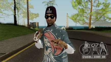 Novo gangster Ballas3 para GTA San Andreas