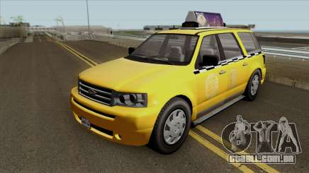 GTA V Vapid Taxi para GTA San Andreas