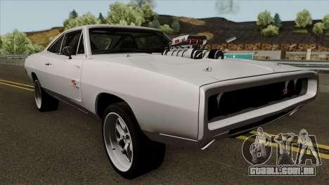 Dodge Charger RT 1970 FnF 7 para GTA San Andreas