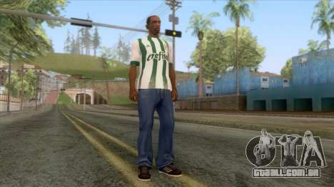 Palmeiras - Away T-Shirt para GTA San Andreas