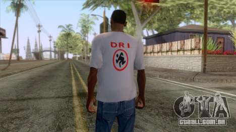 Novo CJ t-shirt R. D. I. para GTA San Andreas