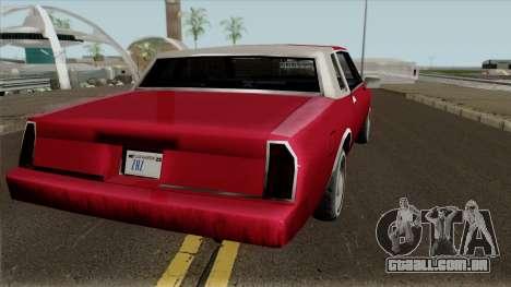 Tahoma Coupe para GTA San Andreas