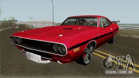 Dodge Challenger RT 1970 para GTA San Andreas