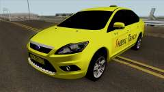 Ford Focus 2 Sedan 2009 Yandex Taxi para GTA San Andreas