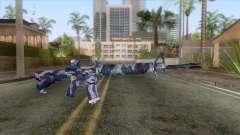 M-16 Camo URB Azul