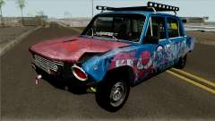 "VAZ 2101 ""Combate Clássicos"" para GTA San Andreas"