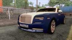 Rolls-Royce Wraith 2017 para GTA San Andreas