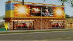 O Clube de boxe Rocky Balboa na Grove Street para GTA San Andreas