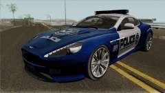 Aston Martin Virage 2011 FCPD para GTA San Andreas