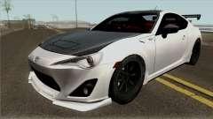 Toyota GT86 GRMN Edited para GTA San Andreas