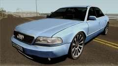 Audi A8 Long 2000 6.0 W12 para GTA San Andreas