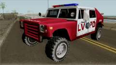 Patriot LVPD para GTA San Andreas