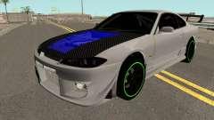 Nissan Silvia Spec R para GTA San Andreas