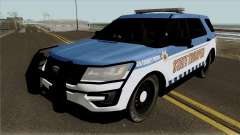 Ford Explorer 2012 Red County Police