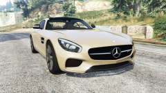 Mercedes-AMG GT (C190) 2016 v2.2 [replace] para GTA 5