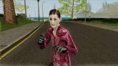 Mona Sax Red Jacket from Max Payne para GTA San Andreas